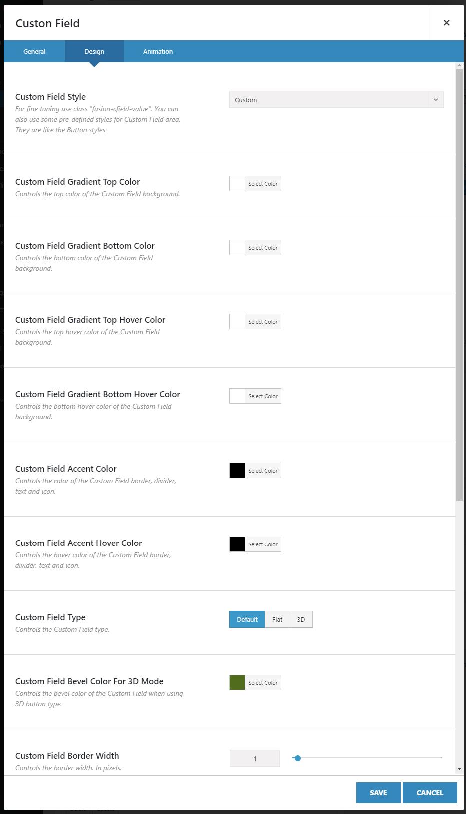 Custom Fields Element for Avada Builder - 4